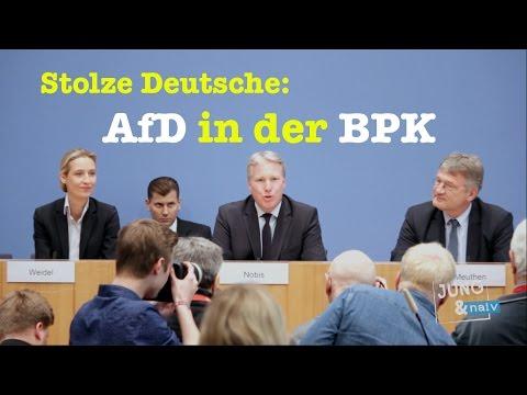 AfD: Alice Weidel, Alexander Gauland, Jörg Meuthen in der BPK - Komplett vom 8. Mai 2017