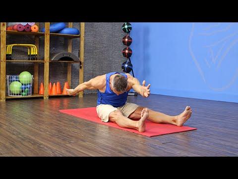 Pilates Mat Saw Exercise