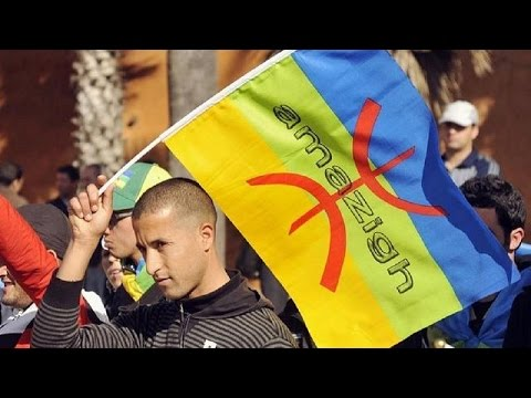 Algeria's Berbers rally for 'official recognition' of Amazigh language