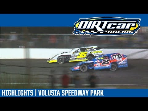 DIRTcar UMP Modifieds Volusia Speedway Park February 7, 2018 | HIGHLIGHTS
