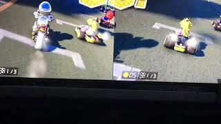 Super Mario Kart 8 - Must Use the Right Controller! 😂