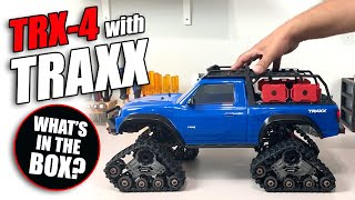 DEBOXED: Traxxas TRX-4 with TRAXX - Saves you over $150!