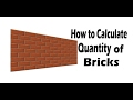 How to Calculate number of Bricks