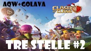 Tre stelle #2 AQ Walk+Golava th10 - Clash of Clans Ita [Ol Mafius]