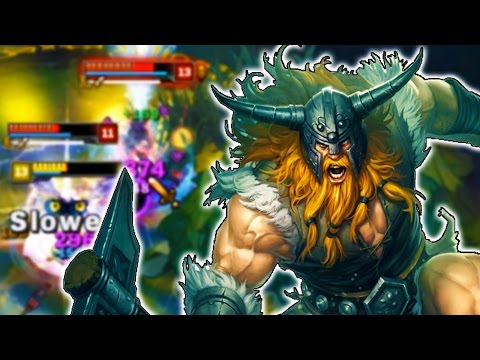 BACK FROM THE DEAD! How to Play Olaf Jungle in Season 7 - League of Legends