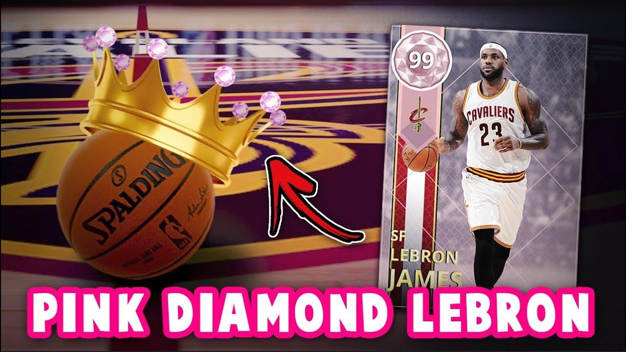 8ab12d440b69f NBA 2K18 PINK DIAMOND 99 OVERALL LEBRON JAMES COMING!!  NEW PACKS ...