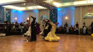 Professional International Ballroom : Quickstep –  2016 Snow Ball DanceSport Competition