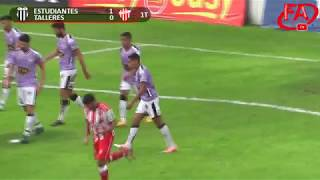 FATV 17/18 4º de Final Reducido - Estudiantes (BA) 4 - Talleres 1