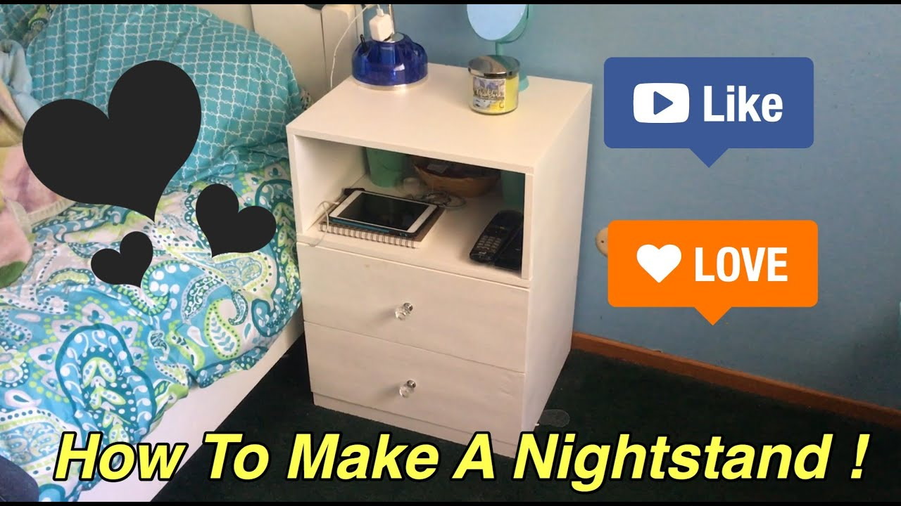 How To Make A Nightstand