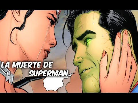 """LA MUERTE DE SUPERMAN """"LOS DIAS FINALES DE SUPERMAN"""" Pre-Rebirth @Comics Tj"""