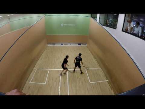 Madeira PSA International Squash Tournament 2016 - Final! Edmon Lopez vs Patrick Rooney