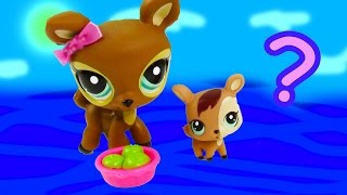 LPS Mommy Baby Deer Littlest Pet Shop Mystery Surpirse Daddy Unboxing Opening Mom Dad Review