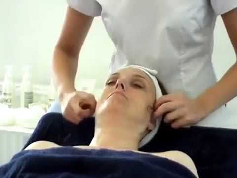 The Beauty Academy Demo of Facial Massage & Skincare Treatment