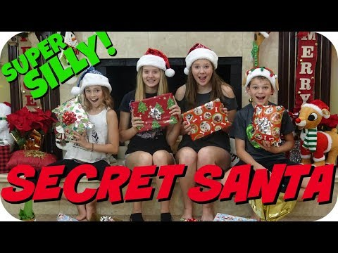 SUPER SILLY SECRET SANTA || FT. WE ARE THE DAVISES || Taylor and Vanessa