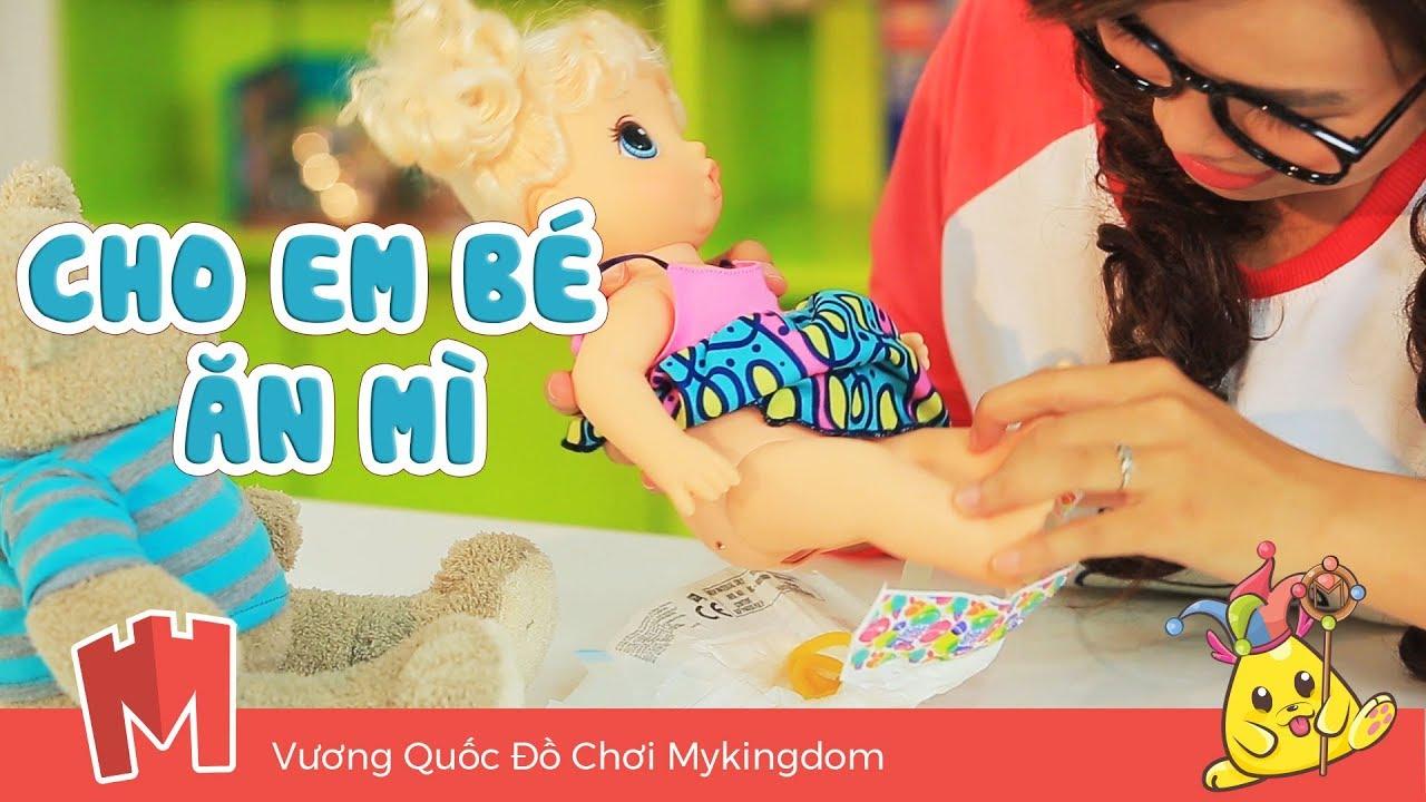 CHỊ LÍ LẮC #015 | Cho EM Bé Baby Alive Ăn Mì