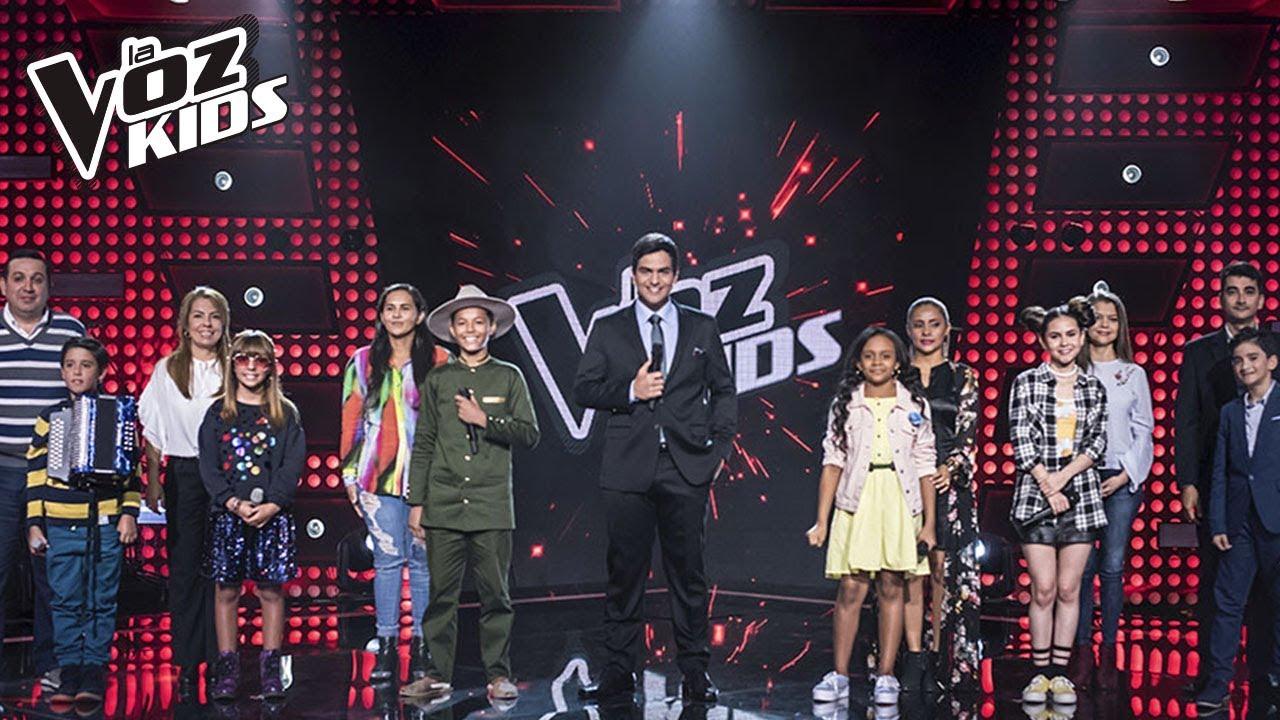 Primera Noche De Rescates En La Voz Kids Rescates La Voz Kids Colombia 2018 Youtube