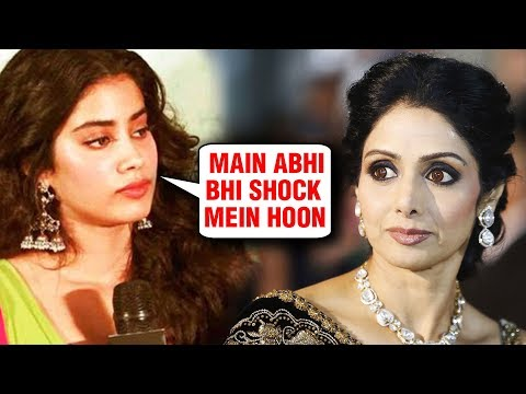 Janhvi Kapoor FINALLY SPEAKS About Her Mother Sridevi
