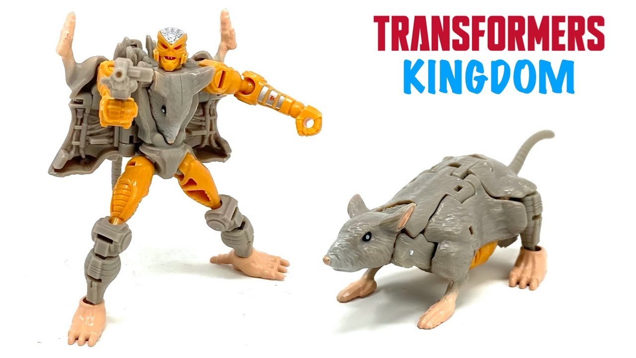 Transformers Kingdom Core Class Rattrap In-Hand Review by PrimeVsPrime