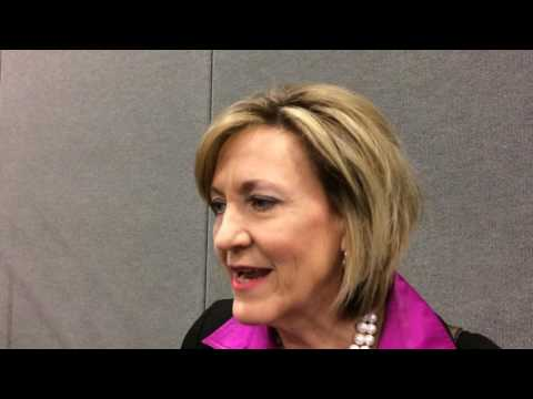 Ohio gubernatorial candidate Betty Sutton makes her pitch to voters