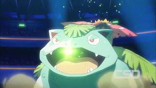 Venusaur VS Blastoise | Pokemon The Movie I Choose You 2017
