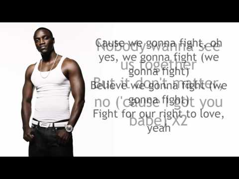 Akon - Don't matter Lyrics