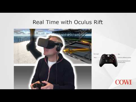 COWI REAL TIME AND VR VISUALIZATIONS