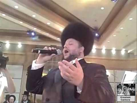 Cantor Helfgott Sings Velirushulayim Ircha at his Daughters Wedding