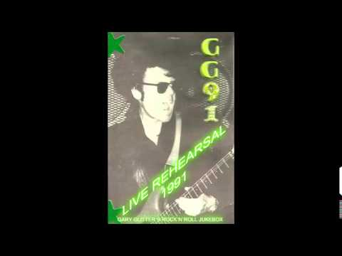 Gary Glitter - Doing Alright With The Boys : Live Rehearsal : RARE