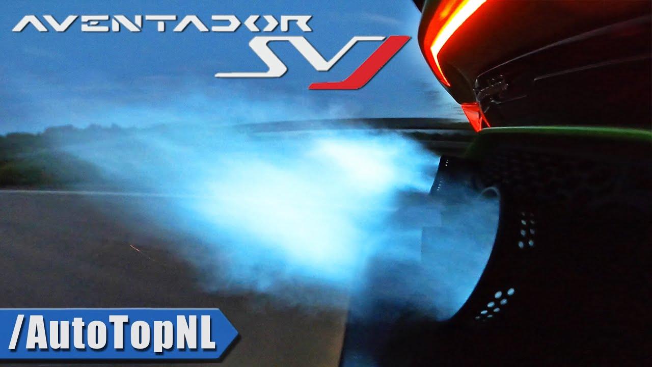 6 Minutes of Petrolhead HEAVEN! - LAMBORGHINI AVENTADOR SVJ V12 by AutoTopNL