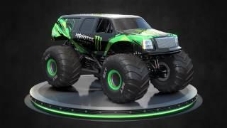 2017 Monster Energy Monster Jam truck   SUV and Pickup body style reveal