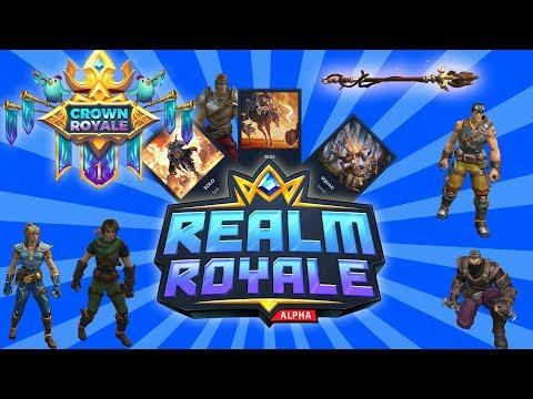 Realm Royale   The Better Fortnite  Free to play on Steam PLATINUM V PLAYER  RATING Looking for WINs