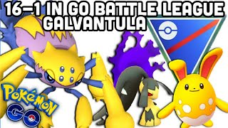 Going 16-1 in Great GO Battle League Pokemon GO   Galvantula is crazy good   Season 2 prep