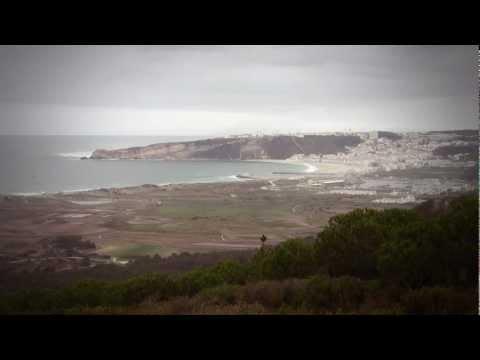 Correndo o tempo 002: Nazaré vista do Casal-Mota