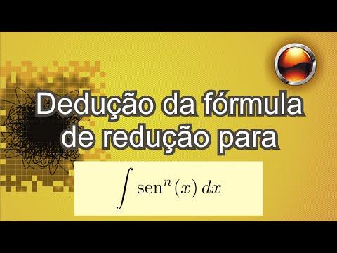 Fórmula de redução para int sen^n(x).dx