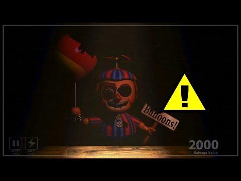 FNAF 6 Secret Balloon Boy Salvage?! - Freddy Fazbear's Pizzeria Simulator
