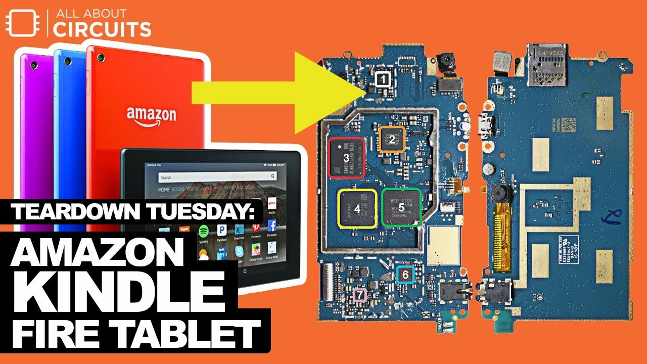 Teardown Tuesday: Amazon Kindle Fire Tablet - News