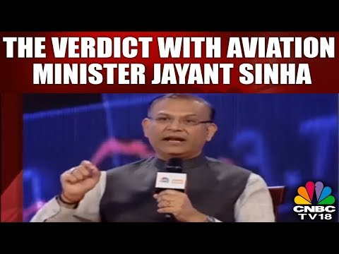 #BudgetVerdict: The Verdict With Aviation Minister Jayant Sinha | #BudgetVerdict | CNBC TV18