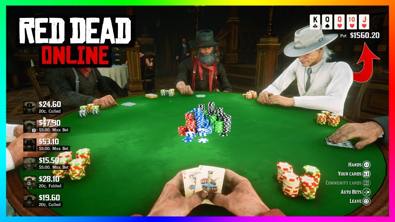 Red Dead Online - The Best NEW Way To Make Money: POKER ...