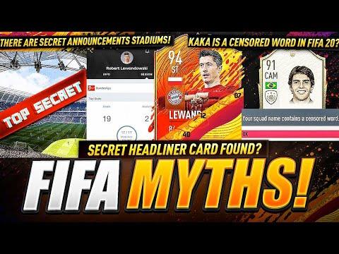 Secret Headliner Card Found in FIFA?