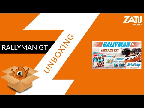 Rallyman GT - Unboxing