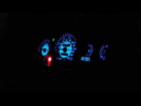 1992-1995 Honda Civic Neon Gauge Cluster