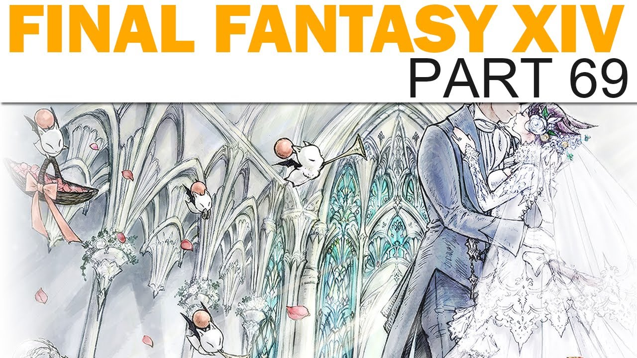 Final Fantasy XIV - Livemin - Part 69 - Ceremony of Eternal Bonding #2 (Let's Play / Playthrough)