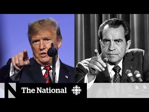 Donald Trump and Richard Nixon: The similarities between two U.S. presidents