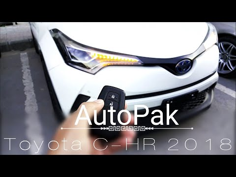 Toyota C-HR Hybrid 2018. Detailed Review: Price, Specifications and Features.