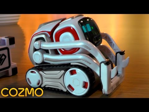 Cozmo - Day 2: Keep Away, Finger Grab, Quick Tap & Drive Games