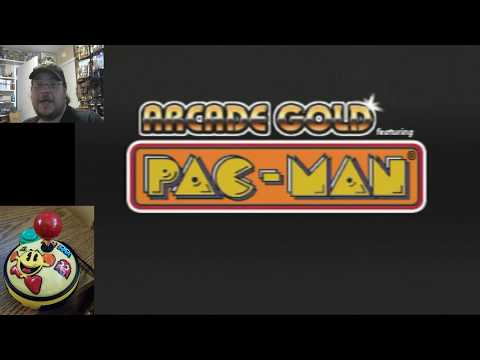Arcade Gold Plug & Play Part 1: Pac-Man & Pac-Man Plus Game Play