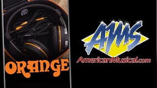 Orange O Edition Stereo Headphones - Orange Amps