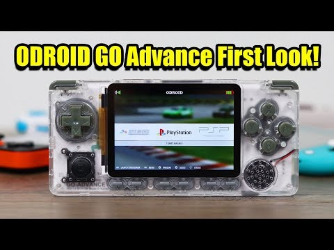 ODROID GO ADVANCE First Look And Test - Could This Be The Best Retro Handheld of 2020!