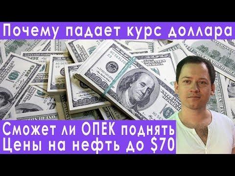 Заседание ОПЕК цены на нефть обвал доллара прогноз курса доллара евро рубля валюты на декабрь 2019