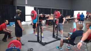 1233 lbs @ 165 lbs - Braden Sanchez - Naturally Fit Expo USPA Powerlifting Meet
